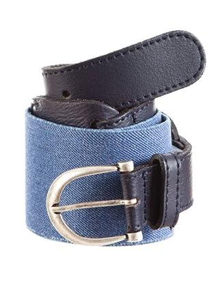 Cortefiel Cinturón Elástico (Azul Marino)