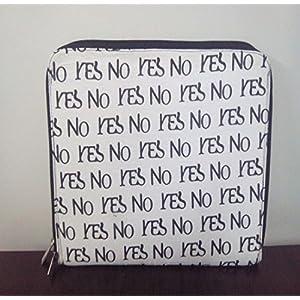 Creative Box Yes No Print I-Pad Sleeve