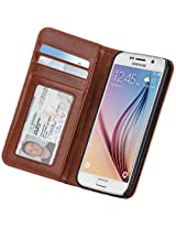 Case-Mate Wallet Case for Samsung Galaxy S6 - Retail Packaging - Brown