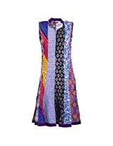 Karni Women's Cotton Multi Colors Kurti