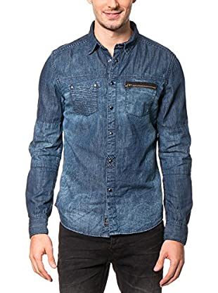 AMERICAN PEOPLE Hemd Denim Edge