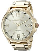 Quiksilver Analog Gold Dial Men's Watch - QS-1002-GDGP