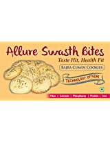 Allure Swasth Bites Bajra Cookies Cumin (Pack Of 2)