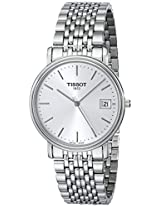 Tissot Desire Analog White Dial Men's Watch - T52148131