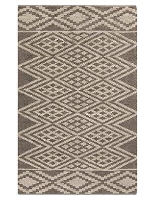 Surya Hand-Woven Wool Aztec Area Rug