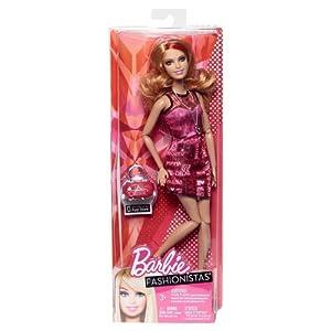 Barbie Fashionista Doll Assortment, Red