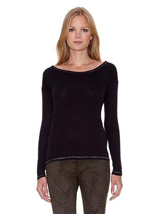 Mila Brant Camiseta Opale (Negro)