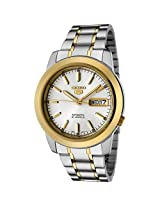 Seiko Automatic SNKE54K1 White Analogue Watch - For Men
