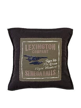Lexington Company Funda De Cojín Lake House (Negro)