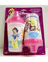 4 Disney Princess Baby Girl Spill Proof Cups 9 Fl Oz