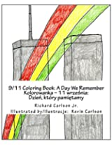 9/11 Coloring Book: A Day We Remember (English and Polish Edition)