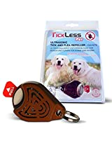 TICKLESS PET Ultrasonic Tick And Flea Repeller