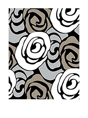 Contemporary Wood Teppich Rose 140 x 190 cm
