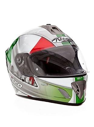 Nitro Casco Ngfp Italy (Rosso/Bianco/Verde)