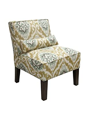 Skyline Armless Chair, Opal