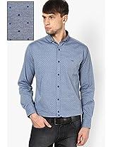 Blue Full Sleeve Casual Shirt