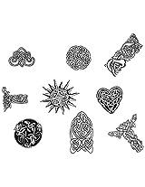 Iwata-Medea Temporary Tattoo Transfer Sheet, Celtic