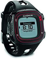 Garmin Forerunner 10 Fitness Watch, (Red/Black)