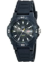 Q&Q Analog Black Dial Men's Watch - A176J001Y