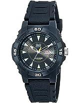 Q&Q Analog Black Dial Men's Watch - A176J001Y
