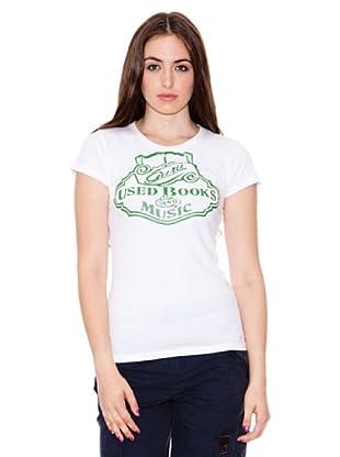 Guru Camiseta Basic Melange (blanco)