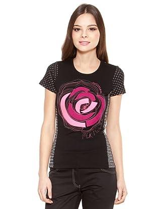 Poupé Chic Camiseta Lunares (Negro)