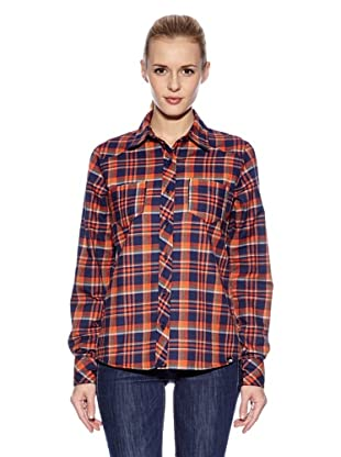 The North Face Camisa Fennel Woven (Naranja)