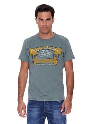 Pepe Jeans London Camiseta Pantaleon (Gris)