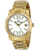 Lucien Piccard Men's LP-10026-YG-22 Bordeaux Analog Display Japanese Quartz Gold Watch