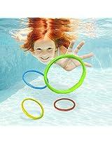 Aqua Games Dive Rings (Set of 6) by Aqua Leisure