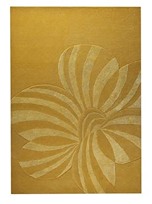 MAT the Basics Jasmine Hand-Carved & Tufted Rug (Gold)