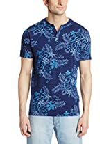 Basics Men's Round Neck Cotton T-Shirt