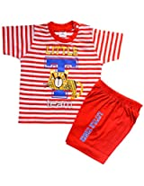Tom and Jerry Boys Dress 508 Orange (0-12 months) by M.G Enterprises (0-3 months)