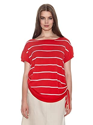 Jackpot Blusa Marienta (Rosso/Bianco)