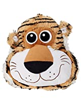 Archies Soft Toy Tiger Cushion, Multi Color (28Cm)