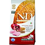 Farmina Natural And Deliciou LG Chicken And Pomegranate Adult Dog Food, 2.5 Kg (Maxi)