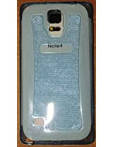 Fortune Glitter TPU For Samsung Galaxy Note 4 Blue Color by Fortune [Limited Offer ]