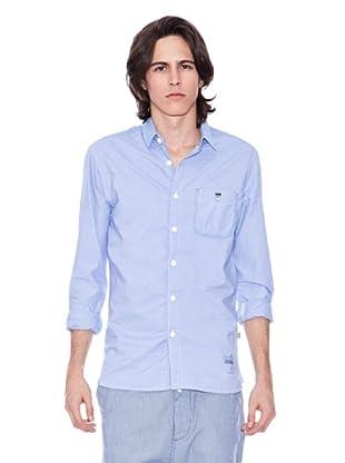 Gio Goi Camisa Skillz (azul / blanco)