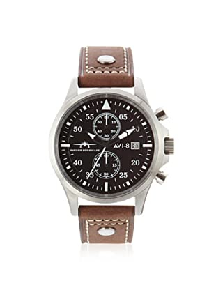 AVI-8 Men's 4013-02 Hawker Hurricane Brown/Black Stainless Steel Watch