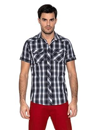 Springfield Camisa Cuadros (Negro)
