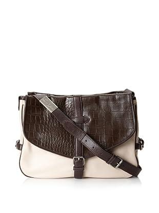 Foley + Corinna Women's Petra Cross-Body Messenger Bag (Bittercroc/Shell Combo)
