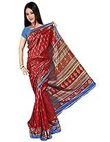 Kothari Printed Saree (KT089MA_Maroon)