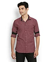 Orange Valley Slim fit Casual Shirt(Size 44)