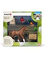 Schleich Foal Eating Set