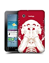 Head Case Designs Tusk Cherry Fossil Protective Snap-on Hard Back Case Cover for Samsung Galaxy Tab 2 7.0 P3100 P3110