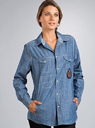 Le Temps Camisa low (Azul)