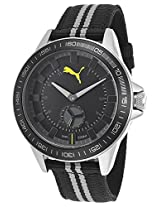 Men'S Black And Grey Nylon And Dial (Pu103631004)