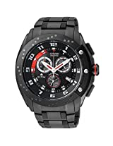 Citizen Eco-Drive Analog Black Dial Men's Watch AT0729-51E