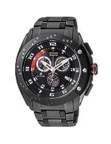 Citizen Eco-Drive Analog Black Dial Men's Watch AT0729-51E