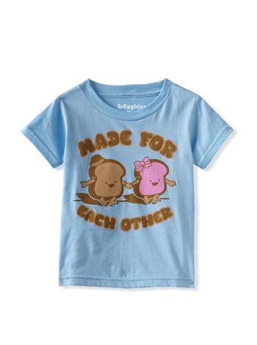 Ex-Boyfriend Boy's Made for Each Other T-Shirt (Light Blue)